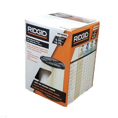 Filtro Aspiradora VF4000 De 6 a 16 Galones Polvo Común