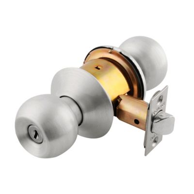 Cerradura Pomo Bano Saturno Platinum