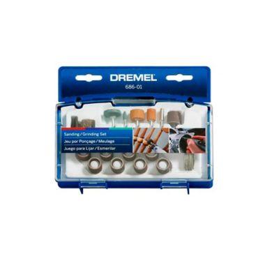 Dremel Set/Kit con 31 Accesorios de Mototool para Cortar, Esmerilar, Grabar y Lijar