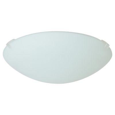 Plafón Blanco 20cm 1 Luz 60W