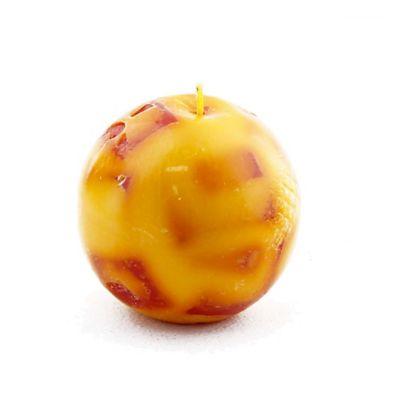 Vela esfera mediana mandarina pomelo