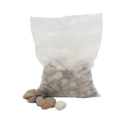 Piedra de río mixta x 12,5 kilos económica