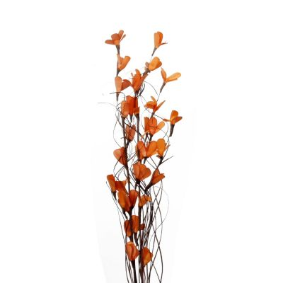 Follaje artificial bouquet naranja