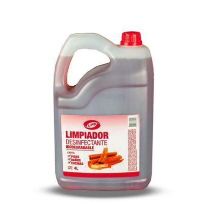 Limpiador Para Pisos Desinfectante Canela 4.000 cc