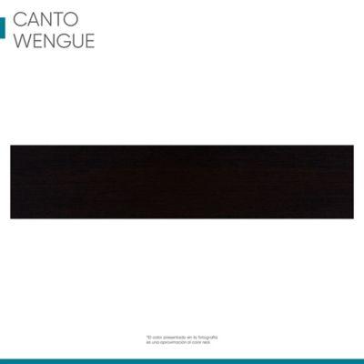 Canto puerta wengue 44 x 0,5 mm 4,2 metros