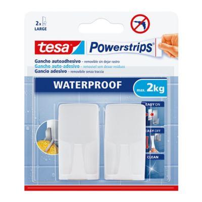 Gancho Autoadhesivo Waterproof Blanco x 2