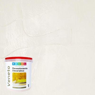 Pintura Efecto Veneto Blanco 1 Galón