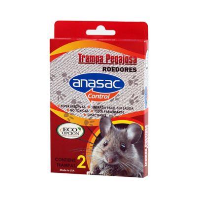 Trampa pegajosa para ratones pequeña x 2 unidades