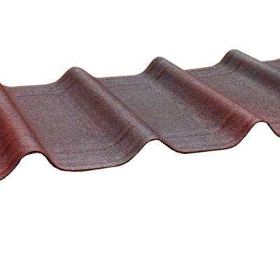 Teja asfáltica roja 106 x 42 cm