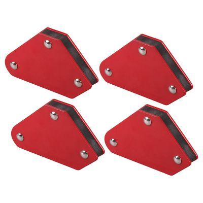Set 4 Imanes  2-3/8X 2 Pulgadas C/U  9Lbs Maximo Bauker