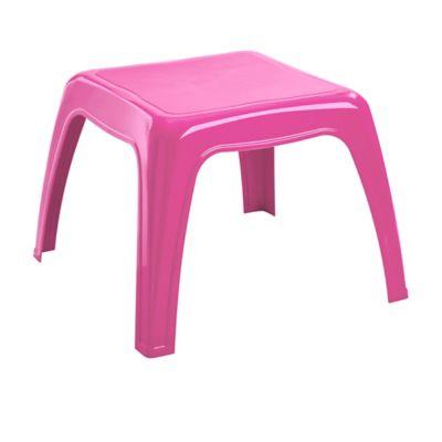 Mesa plástica Kiddy rosado fuerte