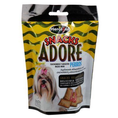 Adore snacks cachorros y adultos razas medianas x 80 gramos