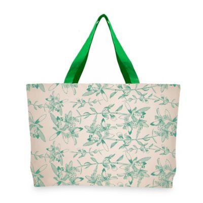 Bolsa Ecologica Reutilizable Flores 45x35 cm