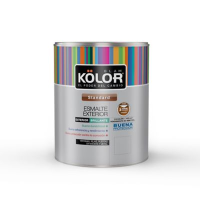 Esmalte Exterior Kolor Azul 1/ 8 Galon