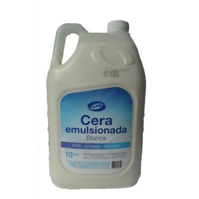Cera Para Pisos Emulsionada 10 Lt