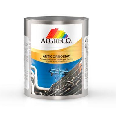Anticorrosivo Negro Mate Algreco 1/4 Galón