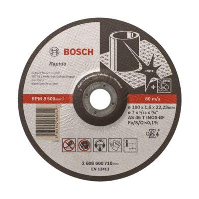 Disco abrasivo corte acero 7 pulgadas (17, 7 cm ancho) x 1/16 pulgada (0,15 cm espesor) 2608 600 710