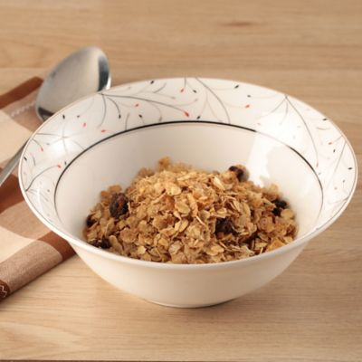 Bowl 18 cm leaf cerámica