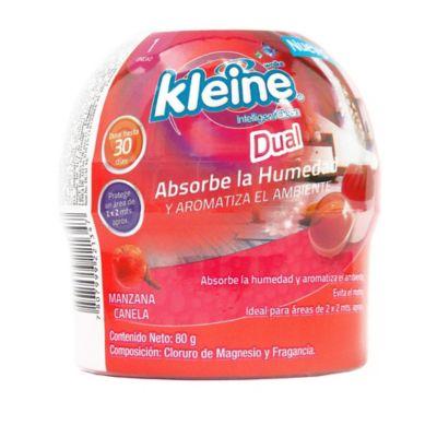 Absorvente de humedad y ambientador dual 80 gramos manzana canela