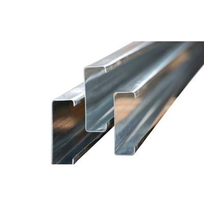 Perfil C GR50 220 x 80 x 2.0mm x 6m galvanizado