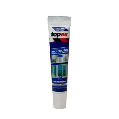 Silicona Acética Sin Fungicida Transparente 82 ml