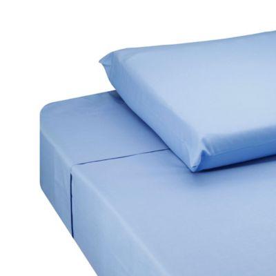 Juego de Sábanas Sencillo 144 Hilos Azul