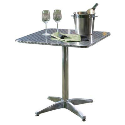 Mesa de Aluminio Cuadrada 70 x 70 cm