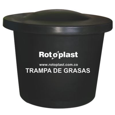 Trampa de Grasas 250 Litros Negra