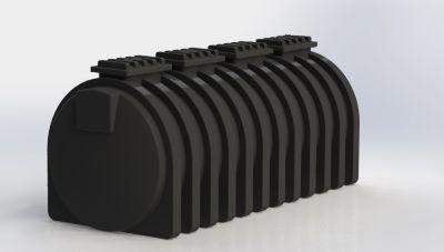 Tanque Cilíndrico Horizontal 10.000 Litros