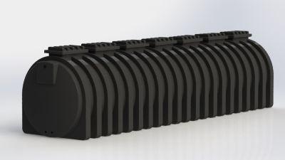 Tanque Cilíndrico Horizontal 17.500 Litros