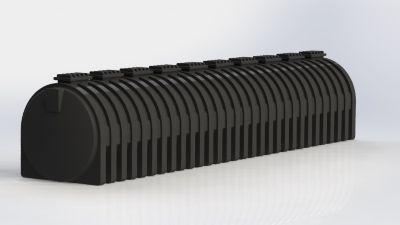 Tanque Cilíndrico Horizontal 30.000 Litros