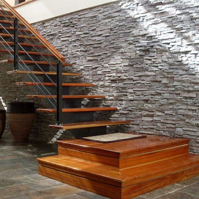 Pared Concreto Tungurahua Gris Veteado Caja 0.25m2