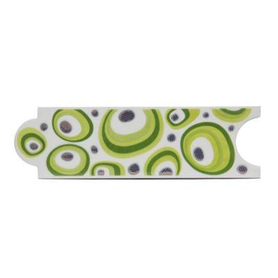 Listelo lacacitos verde limon 8 x 25 cm