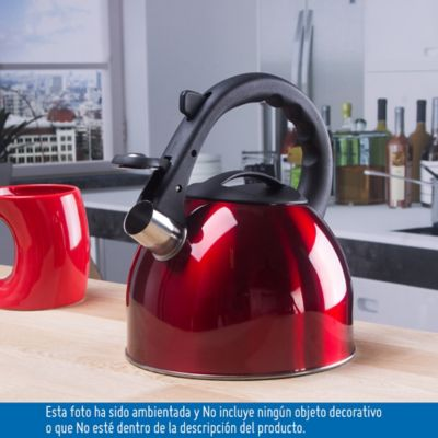 Tetera Hervidora De Agua 2.5 Litros Acero Surtido