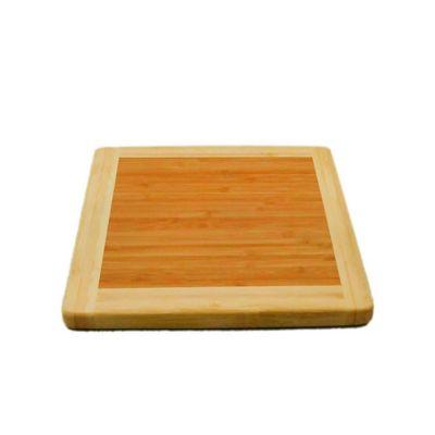 Tabla para Picar en Bambu de 25x x 25 x 1.8 cm