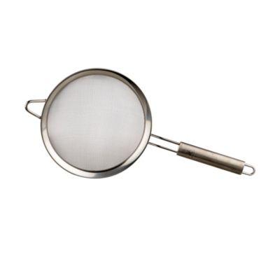 Colador 18 cm acero mango ovalado