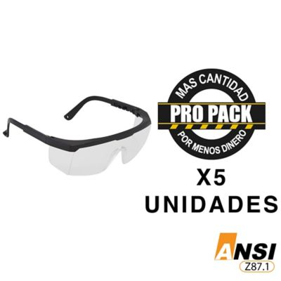Gafa Lente Claro Nitro II Propack 5 und
