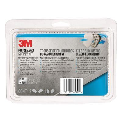 Kit Repuesto Respirador Pintura 6022P