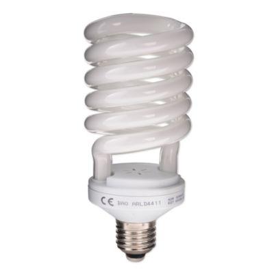 Bombillo ahorrador espiral 42w E27 luz blanca