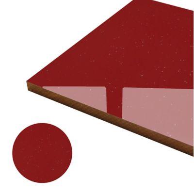 Tablero Poliuretano 18mm 244x122 cm Rojo