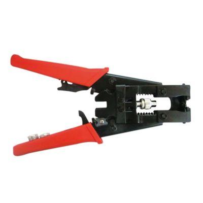 Ponchadora Profesional de Presión BNC RCa Coaxial