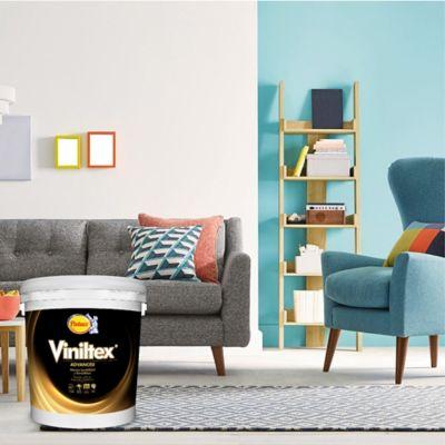 Pintura para Interior Blanco Puro 2.5 Galones