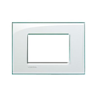 Placa cuadrada aguamarina living light