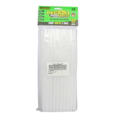 Barras Silicona 1/2 Pulgada X 20 Unidades