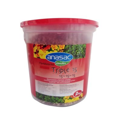 Fertilizante Triple 15 Tarro 2 kg