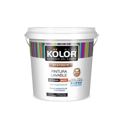 Pintura para Interior Lavable 1 Galón Blanco