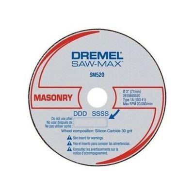 Set Disco Abrasivo Saw-Max SM520 Mampostería 3-pulg (75mm) x 3und