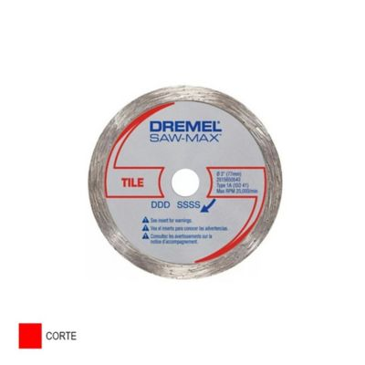 Disco Diamante Saw-Max SM540 Corte Azulejo 3-pulg (75mm)