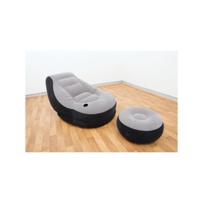 Sillón Inflable Extralargo + Puff