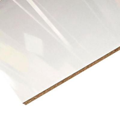 Mdf Super Blanco Brillante 18mm 122x244cm